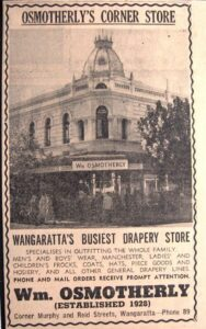 Historic Osmotherlys building has been the home of Wangaratta Dentists for over 90 years.